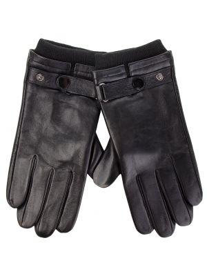 Skórzany rękawiczki czarny Wittchen