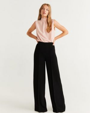 Блузка без рукавов розовая Mango