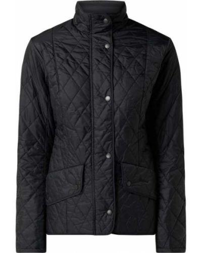 Czarna kurtka pikowana Barbour