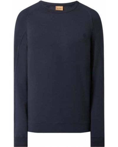Bluza bawełniana - niebieska Mos Mosh