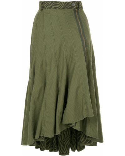 Юбка с завышенной талией асимметричная Hysteric Glamour