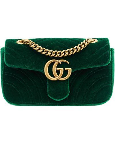Зеленая сумка Gucci
