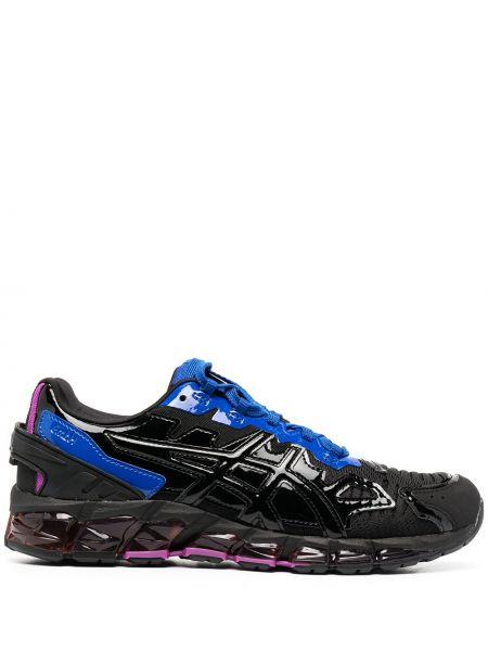 Черные кроссовки на шнуровке с декоративной отделкой Gmbh