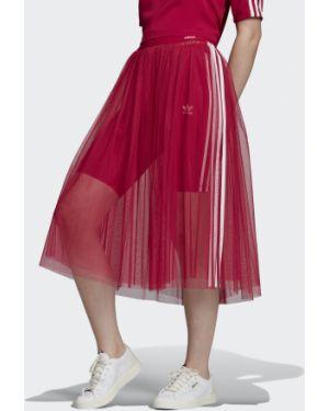 Юбка из фатина розовая Adidas