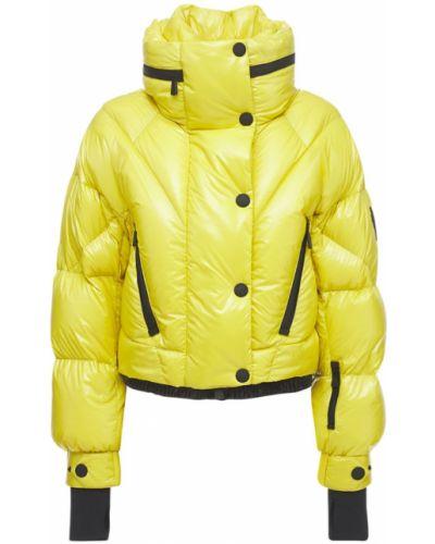 Желтая куртка на кнопках Moncler Grenoble