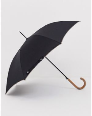 Czarny parasol Paul Smith