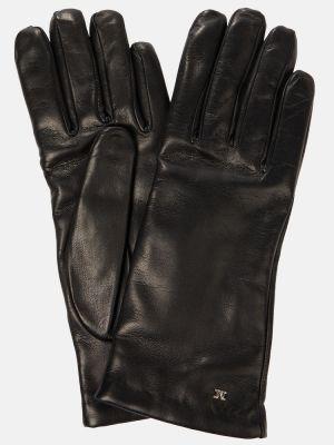 Czarne rękawiczki Max Mara