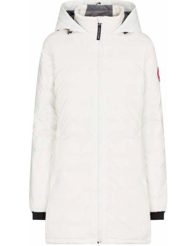Куртка с капюшоном - белая Canada Goose