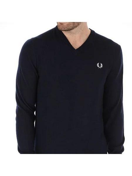 Niebieski sweter Fred Perry