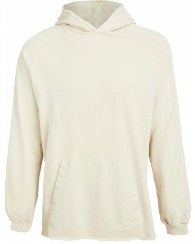 Бежевый теплый пуловер с рукавом реглан Gramicci Japan