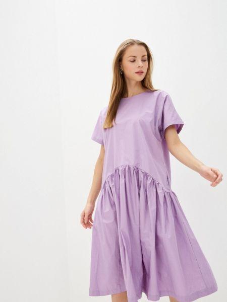 Фиолетовое платье Baon