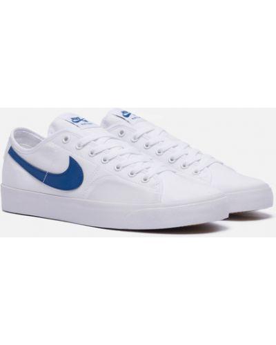 Белые резиновые кроссовки Nike Sb