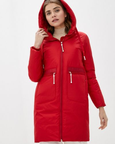 Утепленная красная куртка Purelife