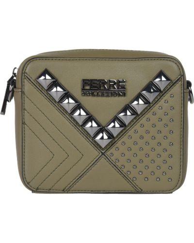 Кожаная сумка - зеленая Ferre Collezioni