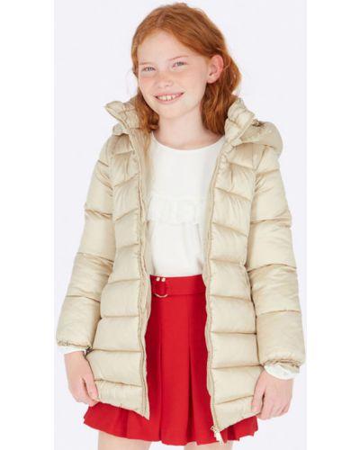 Куртка золотая Mayoral