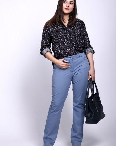 Классические брюки прямые с накладными карманами Gerry Weber