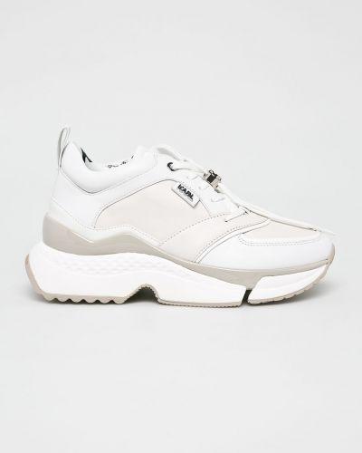 Кроссовки на платформе белый городские Karl Lagerfeld