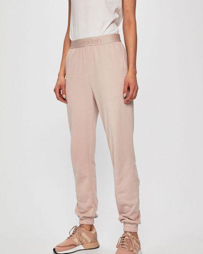 Бежевые нейлоновые брюки на резинке с поясом с открытым носком Calvin Klein Underwear