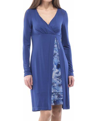 Платье осеннее синее Blugirl