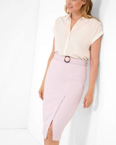 Fioletowa spódnica bawełniana Orsay
