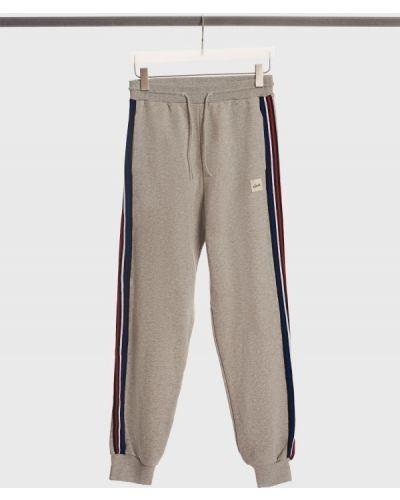 Хлопковые спортивные брюки - серые être Cécile