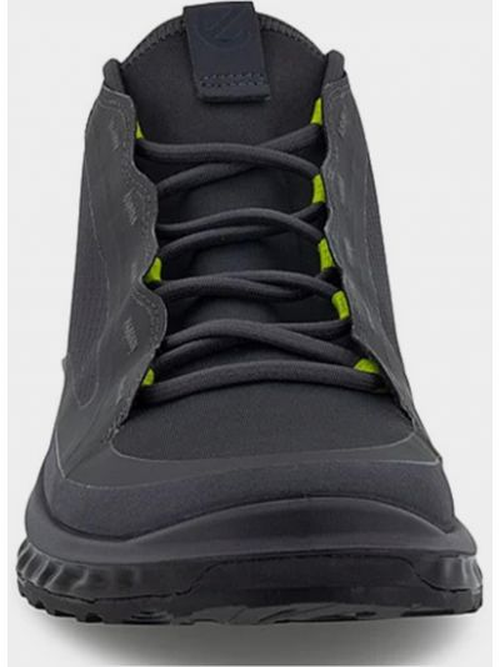 Кожаные кроссовки - серые Ecco