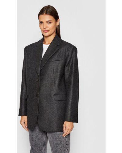 Szary płaszcz oversize Iro