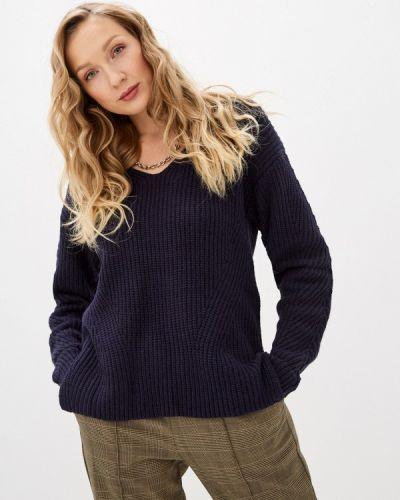 Синий пуловер William De Faye