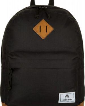 Рюкзак спортивный городской черный Skechers
