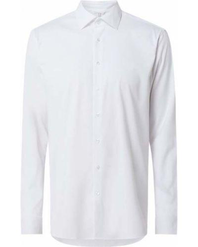 Biała koszula z długimi rękawami Seidensticker