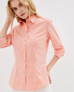 Блузка с длинным рукавом коралловый весенний Gabriela