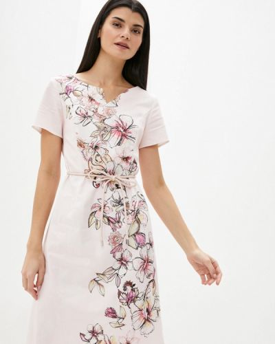 Повседневное розовое платье Gerry Weber