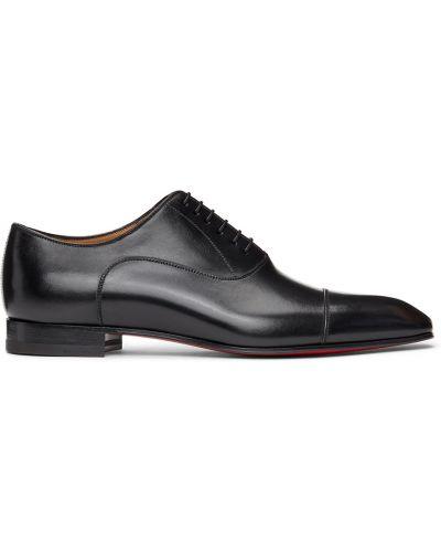 Черные кожаные туфли Christian Louboutin
