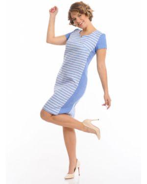Платье платье-сарафан с рукавами Merlis