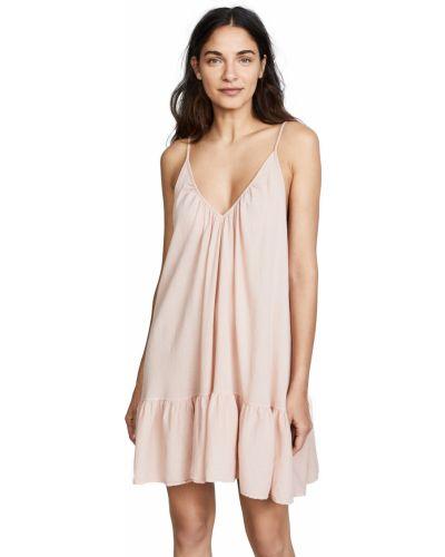 Открытое платье мини с открытой спиной стрейч 9seed