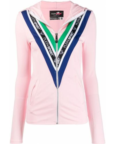 Спортивный костюм на молнии - розовый Plein Sport