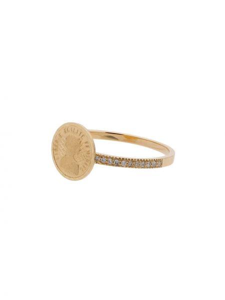 Кольцо металлическое с бриллиантом Anissa Kermiche