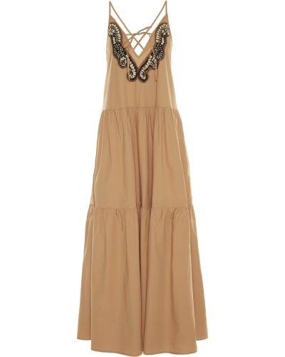 Beżowa sukienka Sfizio