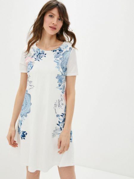 Платье прямое весеннее Desigual