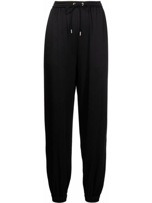 Czarne spodnie bawełniane Ralph Lauren Collection