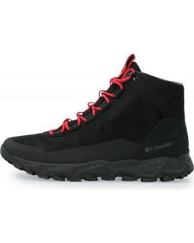 Спортивные высокие кроссовки - черные Columbia