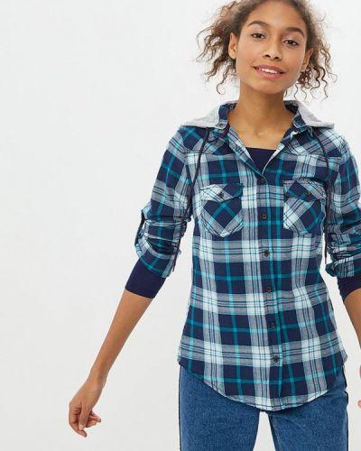 Синяя рубашка с длинным рукавом Alcott