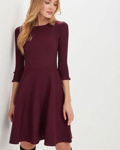 Вязаное платье осеннее трикотажное Lusio