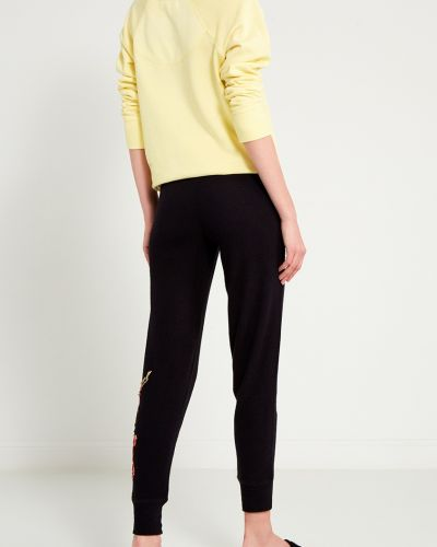 Черные брюки с карманами свободного кроя Pj Salvage