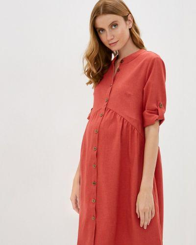 Платье - красное очаровательная адель