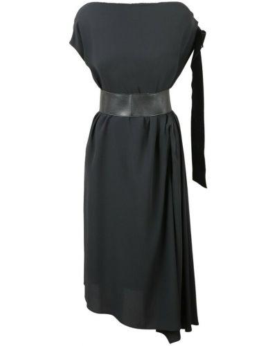Czarna sukienka Anna Molinari