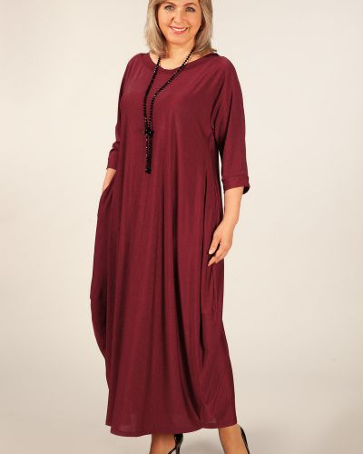 Платье в стиле бохо трикотажное милада