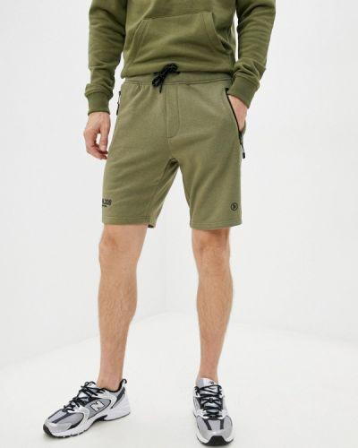 Зеленые зимние шорты Dissident