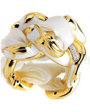 Белое кольцо Graziella