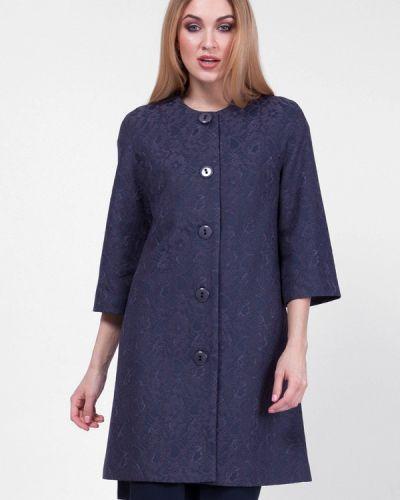Синее пальто весеннее Vladi Collection